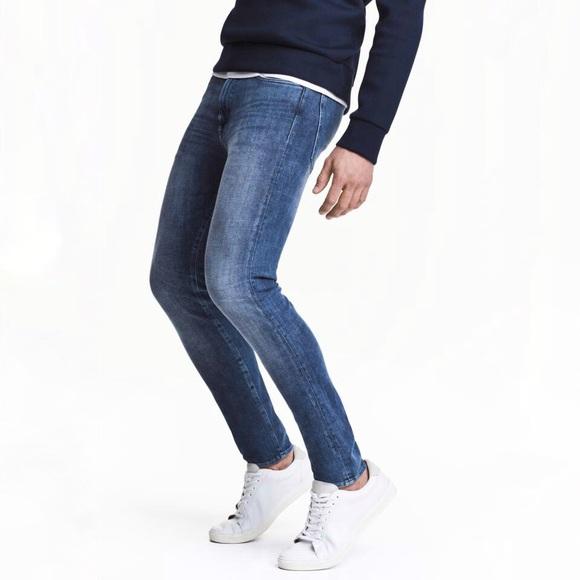 cbb339738d NWOT H&M 360° Tech Stretch Skinny Jeans for Men